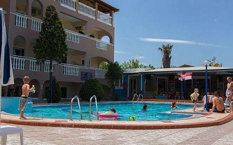 Řecko - Zakynthos na 8 dní, snídaně nebo bez stravy s dopravou letecky z Prahy 600 m od pláže