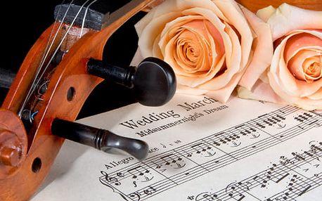Smetana, Dvořák and Vivaldi v Zrcadlové kapli Klementina, vstupenka na zářijové koncerty.