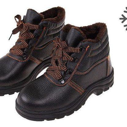 Boty pracovní kožené E vel. 45