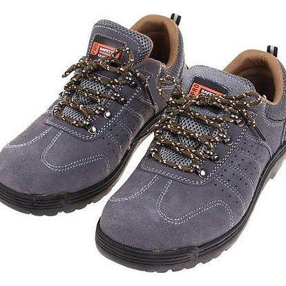 Boty pracovní kožené A vel. 45