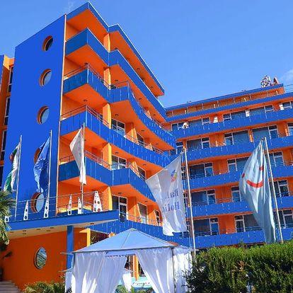 Bulharsko - Slunečné Pobřeží na 8 až 15 dní, polopenze nebo snídaně s dopravou letecky z Budapeště 300 m od pláže