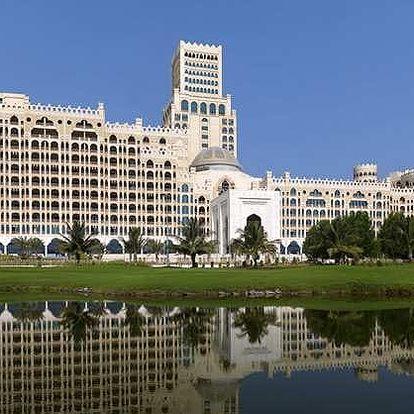 Spojené arabské emiráty - Ras Al Khaimah na 8 dní, polopenze nebo snídaně s dopravou letecky z Prahy přímo na pláži