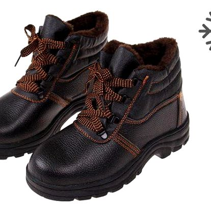 Boty pracovní kožené E vel. 44