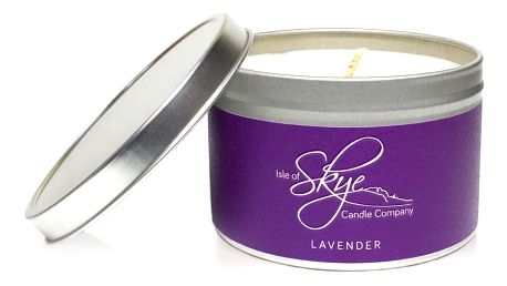 Svíčka s vůní levandule Skye Candles Container, délkahoření30hodin