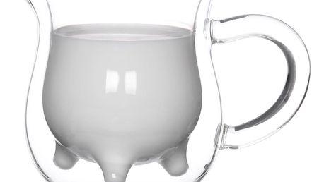 4home Termo mlékovka Moo Hot&Cool, 240 ml, 1 ks
