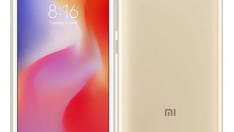 Mobilní telefon Xiaomi Redmi 6A Dual SIM 16 GB zlatý (18988)