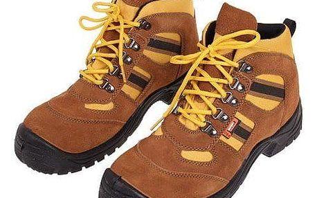 Boty pracovní kožené B vel. 45