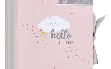 Růžový deník miminka Busy B