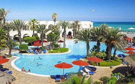 Tunisko - Djerba na 8 až 9 dní, all inclusive s dopravou letecky z Prahy 250 m od pláže