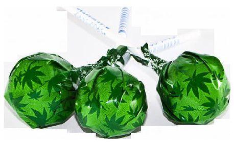 Konopné lízátko Cannabis