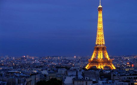 4-denní poznávací zájezd do Paříže 27-30.9.2018