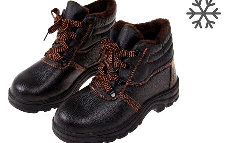 Boty pracovní kožené E vel. 42