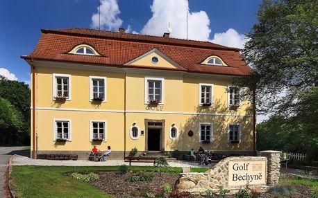 Penzion Černická obora a Golf Bechyně