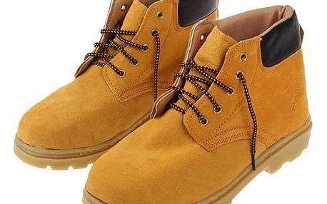 Boty pracovní kožené F vel. 45