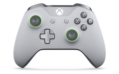 Gamepad Microsoft Xbox One S Wireless - Grey-Green (WL3-00061)