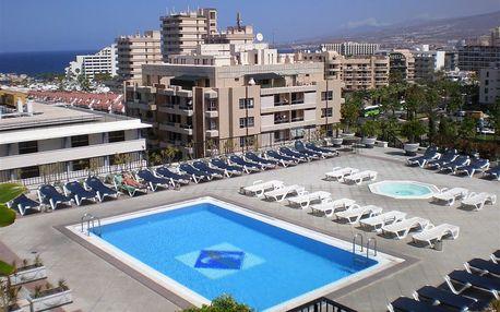 Kanárské ostrovy - Tenerife na 8 dní, plná penze, polopenze, snídaně nebo bez stravy s dopravou letecky z Prahy 700 m od pláže