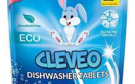 Multifunkční tablety do myčky 7V1 CLEVEO 20 ks