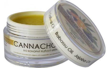 BIO konopný pleťový krém Cannachoco