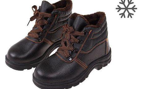 Boty pracovní kožené E vel. 46
