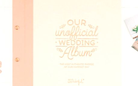 Svatební fotoalbum Mr. Wonderful Our unofficial wedding album