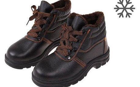 Boty pracovní kožené E vel. 43