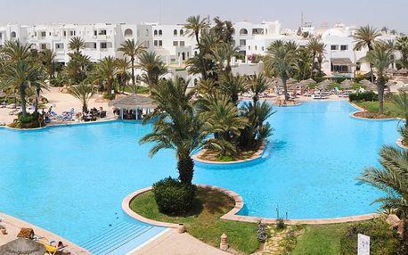 Tunisko - Djerba na 8 dní, all inclusive s dopravou letecky z Prahy 450 m od pláže
