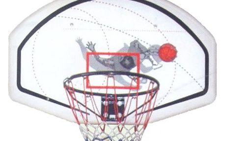 Basketbalový koš s deskou 60 x 48 cm
