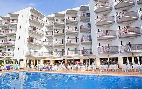 Španělsko - Mallorca na 8 až 12 dní, polopenze s dopravou letecky z Prahy nebo Brna 50 m od pláže