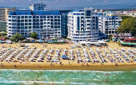 Bulharsko - Slunečné Pobřeží na 8 dní, all inclusive, polopenze nebo snídaně s dopravou letecky z Prahy nebo Ostravy 20 m od pláže