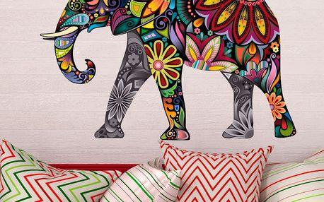 Samolepka Ambiance India Elephant