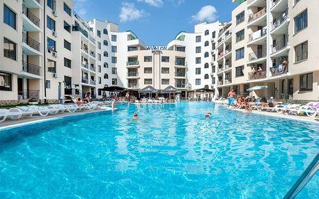 Bulharsko - Slunečné Pobřeží na 8 dní, all inclusive s dopravou letecky ze Sliače, Prahy, Bratislavy nebo Košic 500 m od pláže