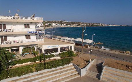 Řecko - Kréta na 8 dní, polopenze nebo snídaně s dopravou letecky z Prahy 10 m od pláže