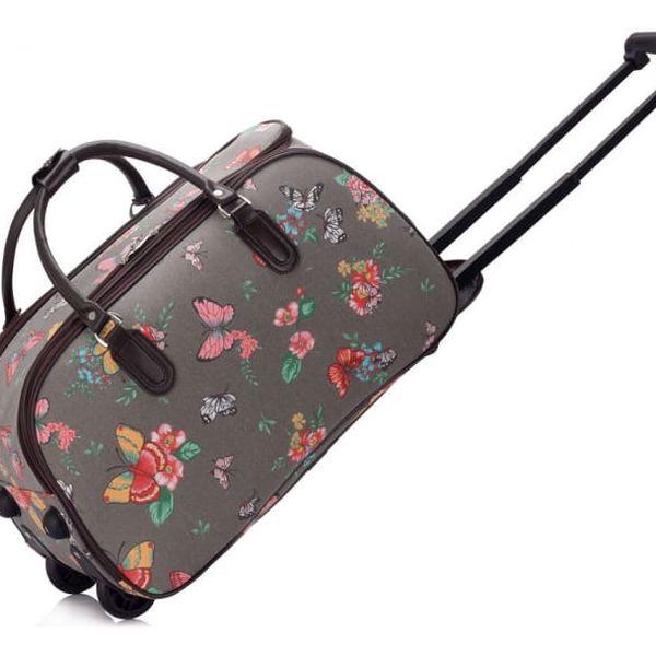 Dámská cestovní taška Nicki 308C šedá