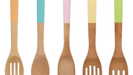 5dílná sada bambusových kuchyňských nástrojů Premier Housewares Bamboo