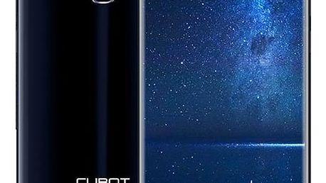Mobilní telefon CUBOT X18 Dual SIM modrý + dárek (PH3638)