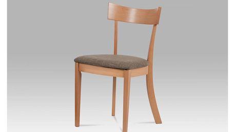 Jídelní židle BC-3333 BUK3 krémová Autronic