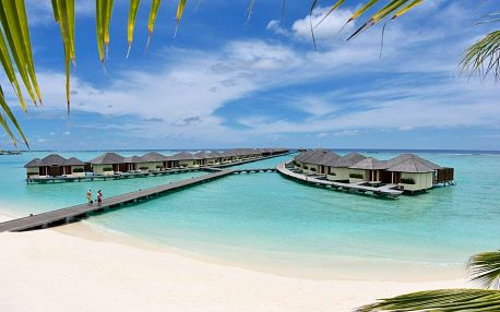 Maledivy - Severní Atol Male na 10 dní, polopenze, snídaně nebo bez stravy s dopravou letecky z Prahy přímo na pláži