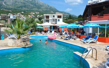 Černá Hora - Bar na 8 dní, polopenze s dopravou vlastní