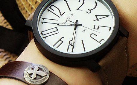 Dámské hodinky s velkými číslicemi - 4 varianty