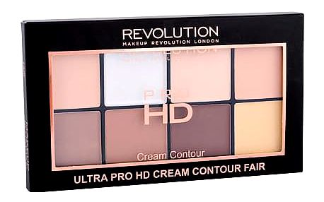 Makeup Revolution London Ultra Pro HD Cream Contour Palette 20 g pudr Fair W