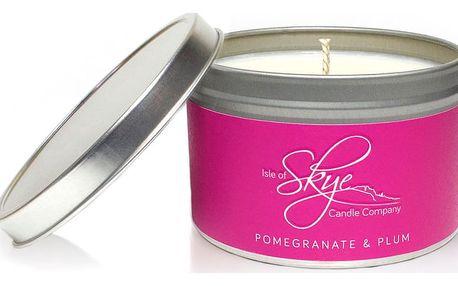 Svíčka s vůní granátového jablka a švestek Skye Candles Container, délkahoření30hodin