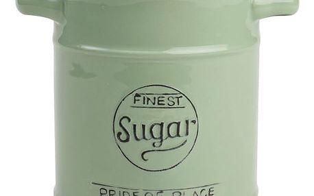 Zelená keramická dóza na cukr T&G Woodware Pride Of Place, 1,25 l