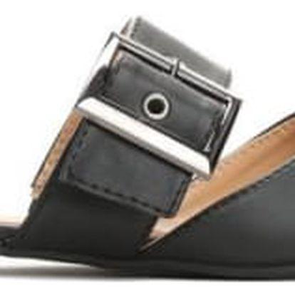 Dámské černé pantofle Naraia 9161