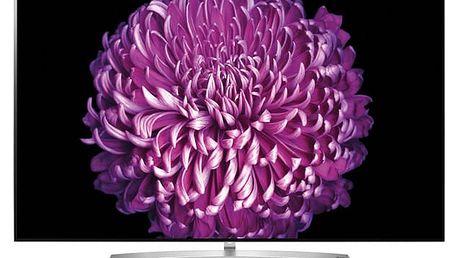Televize LG OLED65B7V stříbrná