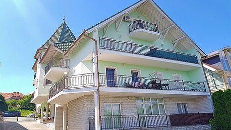3–4denní pobyt pro 2 se slevami ve Fortuna Apartmánu Hevíz u Balatonu v Maďarsku