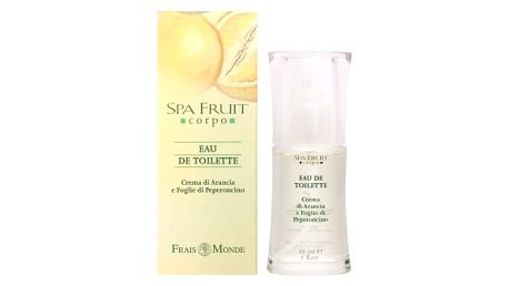 Frais Monde Spa Fruit Orange And Chilli Leaves 30 ml toaletní voda pro ženy