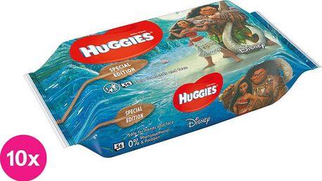 10x HUGGIES® N'Care Disney Moana 56ks – vlhčené ubrousky