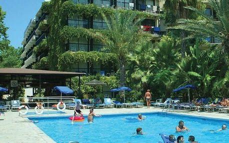 Kypr - Paphos na 13 dní, all inclusive nebo polopenze s dopravou letecky z Prahy 480 m od pláže