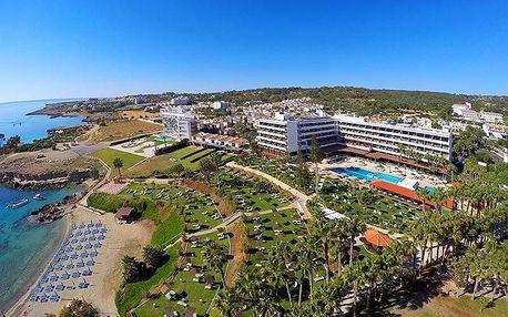 Kypr - Protaras na 13 dní, all inclusive, plná penze, polopenze, snídaně nebo ultra all inclusive s dopravou letecky z Prahy přímo na pláži