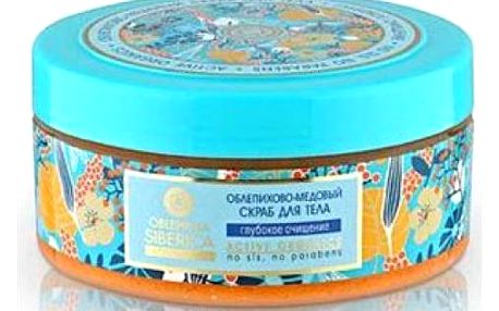 Rakytníkovo-medový tělový peeling 300 ml